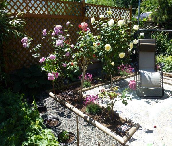 Beachway Accommodations - garden patio