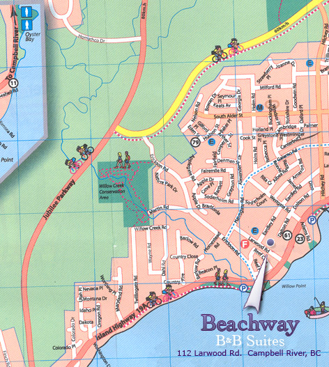 Beachway - Street Map